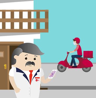 Delivery con App Ticket JUNAEB