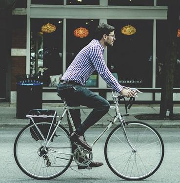 Las ventajas de andar en bicicleta